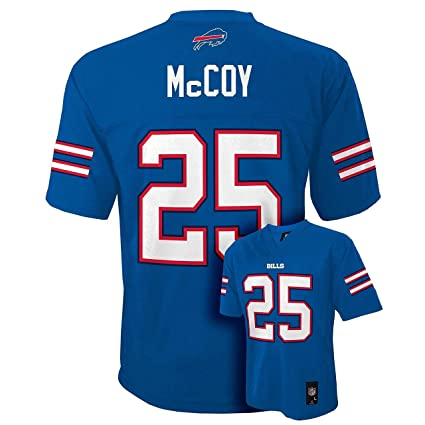 best service 2a2a9 cc88c Amazon.com : Outerstuff LeSean Mccoy Buffalo Bills Blue #25 ...