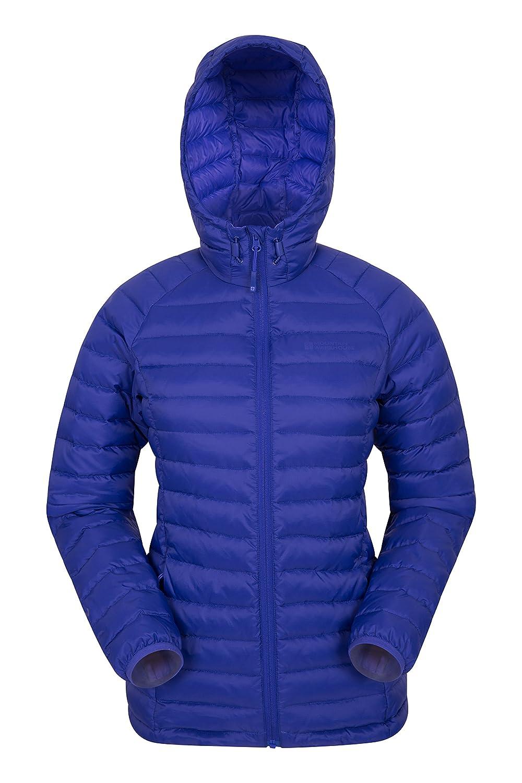 Dark Purple Mountain Warehouse Horizon Womens Hydrophobic Down Winter Jacket