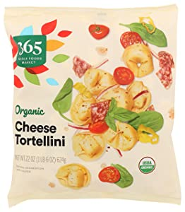 365 by Whole Foods Market, Frozen Organic Tortellini, Cheese, 22 Ounce
