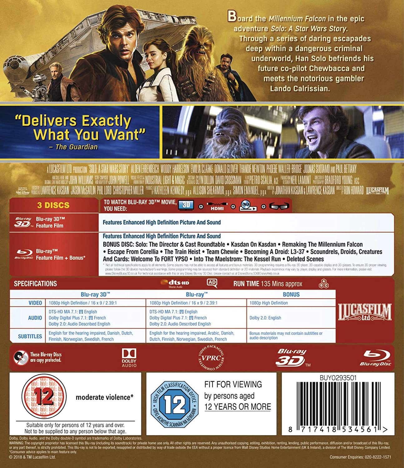 solo a star wars story dvd9 ita torrent