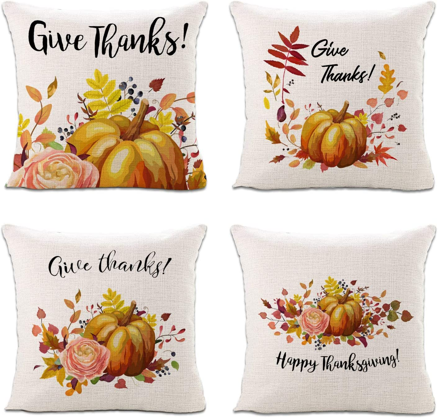 8 Lot Sinpooo Spring Decorative Throw Pillow Covers