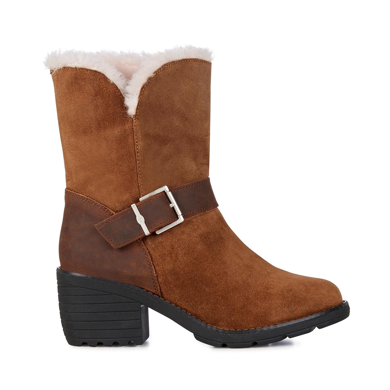 EMU Australia Colebrook Womens Waterproof Sheepskin Boots B0742J3ZN6 6 B(M) US|Oak