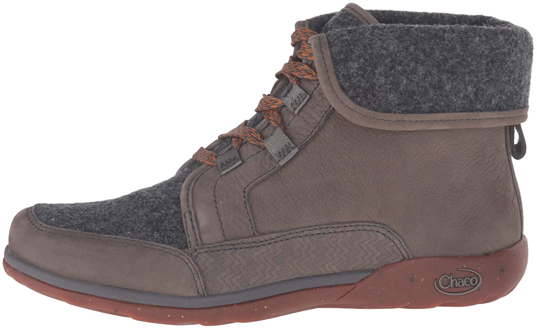 Chaco Women's B(M) Barbary Boot B0197LRCZI 8.5 B(M) Women's US|Nickel Gray f6f6c9