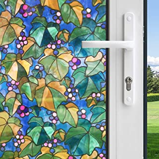 product image for Gila Privacy Control Multicolored Vineyard Indoor Window Film 36 in. W x 78 in. L