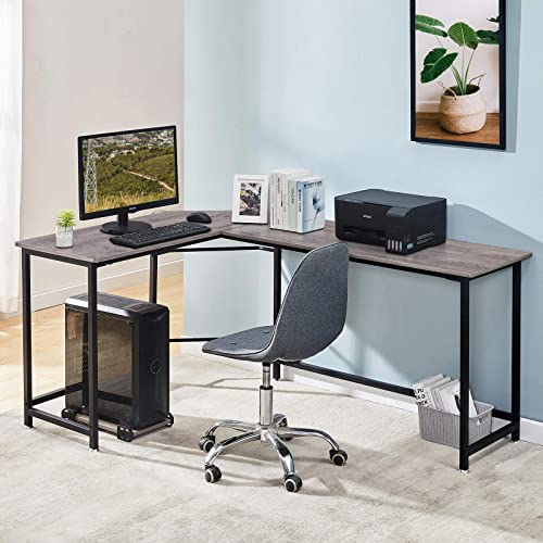 Symylife L Shaped Office Desk