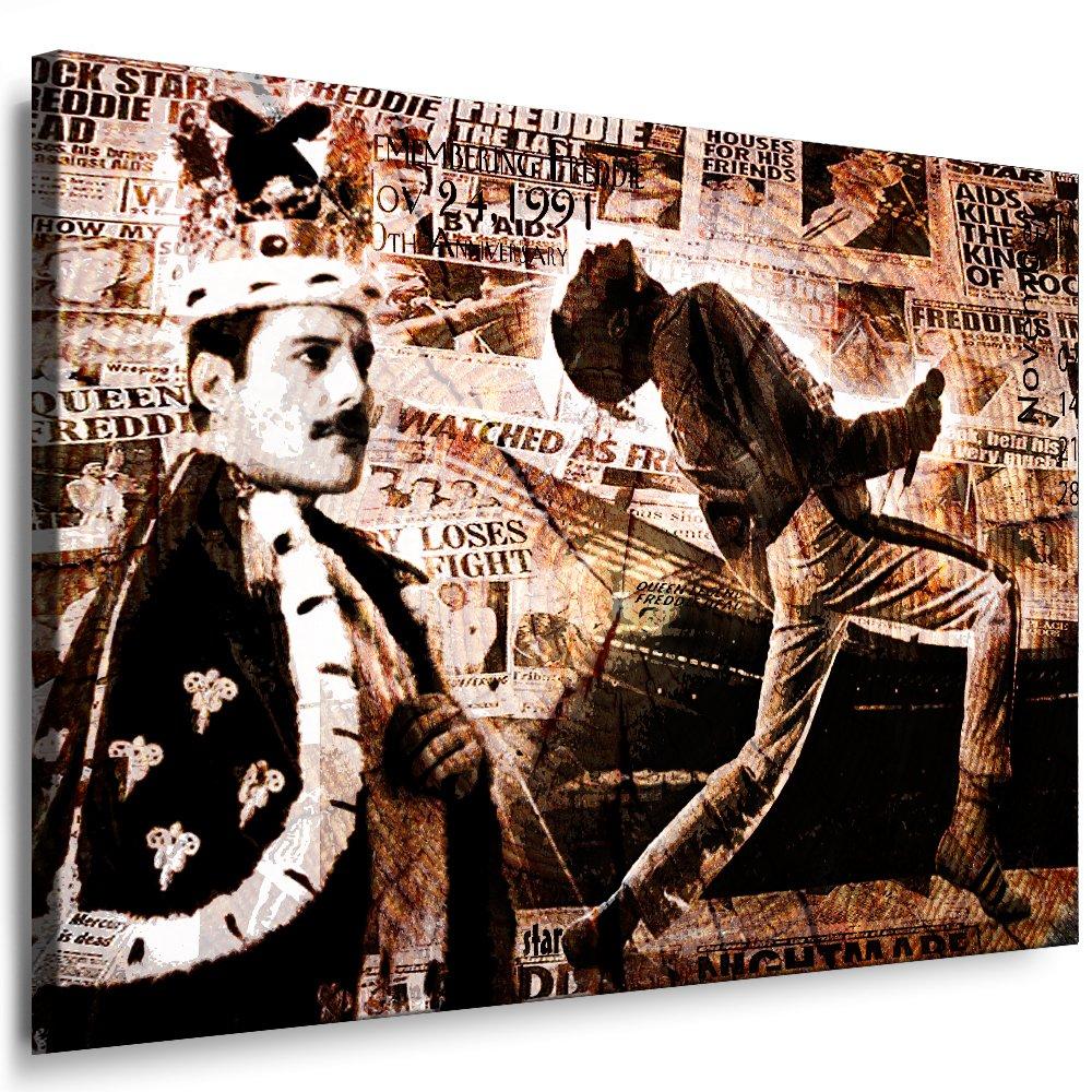 Freddie Mercury - Queen Kunstdruck Deko Bild 100x70cm-k Musik Poster ...