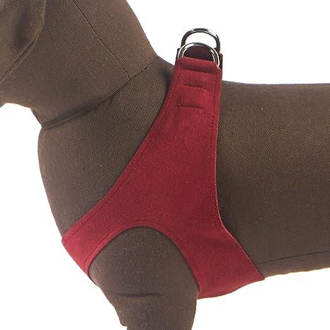 81TD9P pMFL._SX466_ amazon com susan lanci ps harness (xs s, burgandy) pet supplies