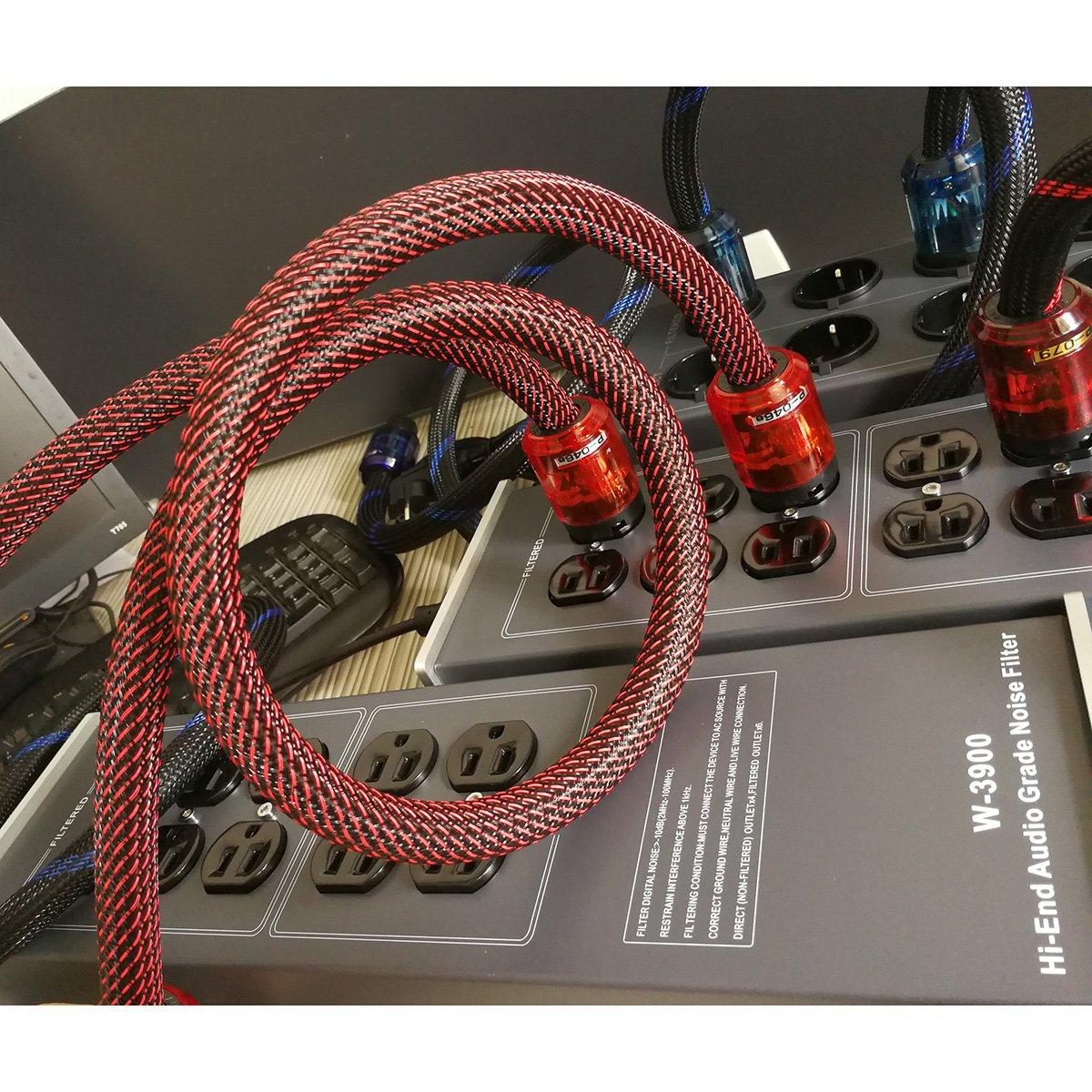 WAudio Hi-End Hifi Audio AC Power Cable Power Cord US Plug - 3.3FT (1M) by WAudio (Image #7)