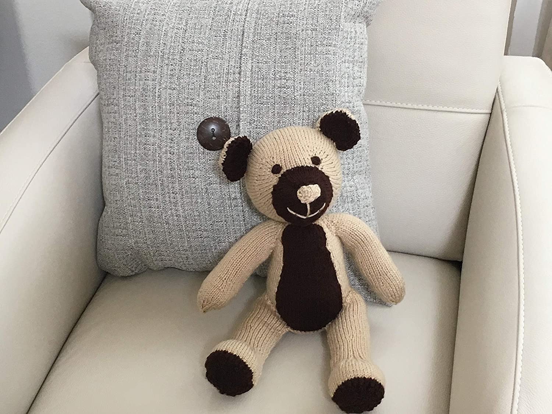 Premier Quality Hand Knit Hand Stuffed Teddy Bear