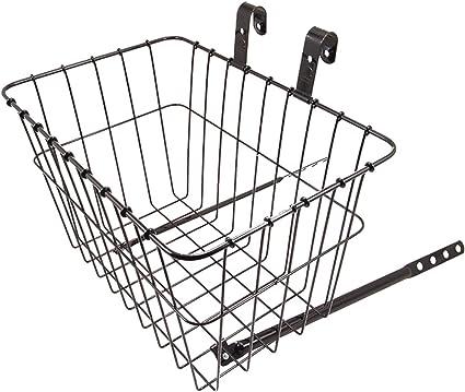 "Wald 135 Front Basket 14.5/"" x 9.5/"" x 9/"" Chrome handlebar front basket"