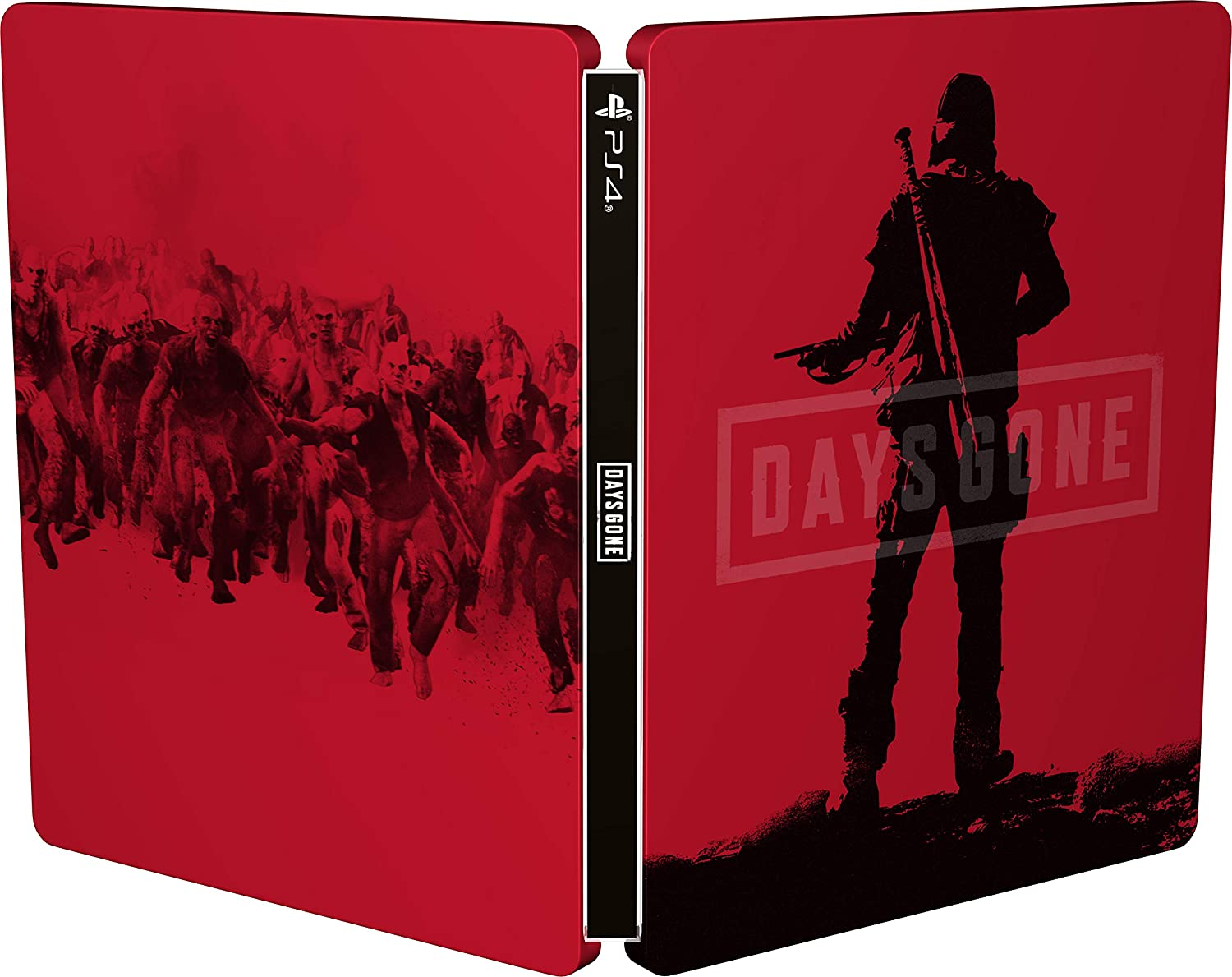 Days Gone Ps4 Steel Book Only Buy One Give One Original Game Cases & Boxes