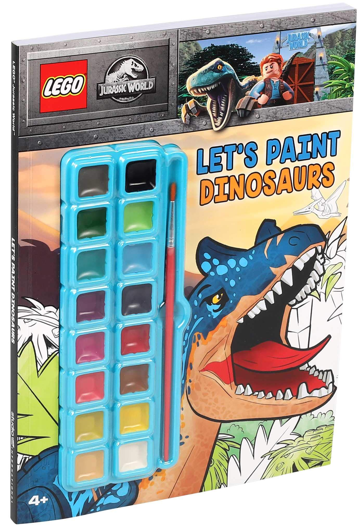 LEGOR Jurassic WorldTM Let's Paint Dinosaurs Coloring Books ...