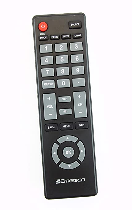 amazon com original emerson nh301ud lcd tv remote control for rh amazon com Emerson TV Menu Emerson Parts