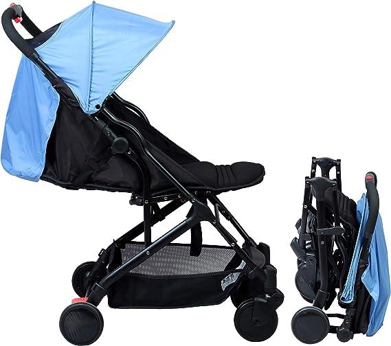 Bambisol YUKO max 15kg Poussette Citadine Ultra Compacte Bleu Niagara Naissance /à 3 ans