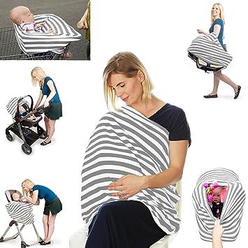 Nursing Carseat Cover Breastfeeding Scarf