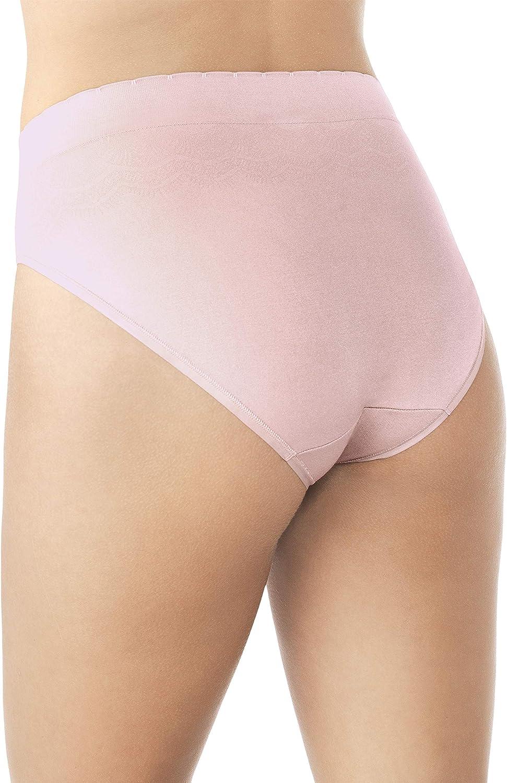 Vanity Fair Womens Standard No Pinch-no Show Seamless Hi Cut Panty