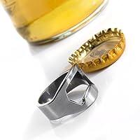 Creative Key portátil abrebotellas abridor de botella de licor de bebidas cerveza puede colgantes anillo llavero Herramienta
