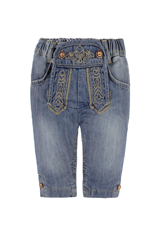 Steiff Jungen Short Kniebundhose Jeans