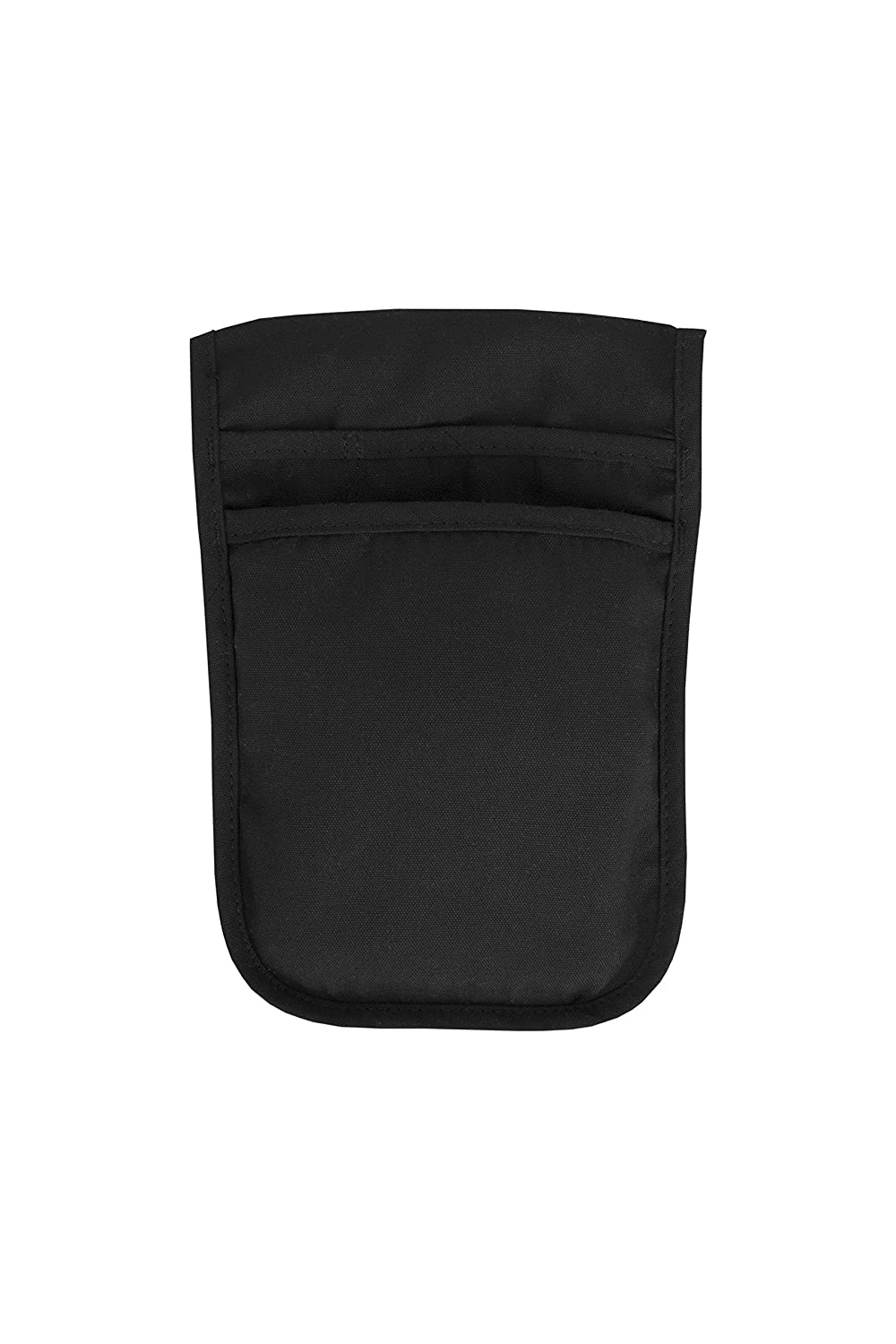 RITZ Food Service CL2PSPOUCHBK-1 2-Pocket Server Pouch, Black