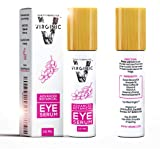 Eye Serum Organic Treatment for Dark Circles and Puffy Bags Puffiness Wrinkle Under Eyes Gel Anti Aging Men Bag Circle Remover Firming Coffee Caffeine Makeup Mask Pure Beauty Cream Products Wrinkles