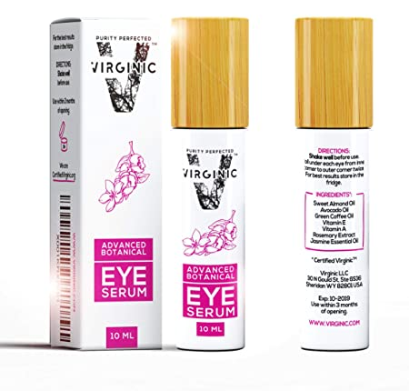 Organic Eye Serum Cream Treatment for Dark Circles and Puffy Bags Puffiness Wrinkle Under Eyes Gel Anti Aging Men Bag Circle Remover Firming Coffee Caffeine Makeup Mask Pure Beauty Products Wrinkles