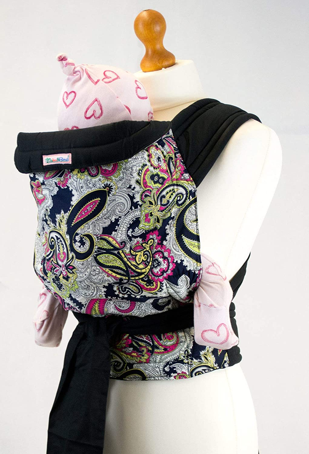 Palm and Pond Mei Tai Baby Carrier – Paisley Design