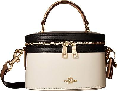 COACH Women s Color Block Selena Trail Bag Gold Chalk Multi One Size   Handbags  Amazon.com 630b2f0fb720c