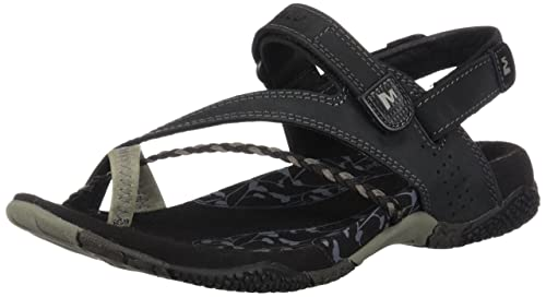 Black Zapatos Sandal Siena Black Y es Amazon Merrell Womens RqwzxESA