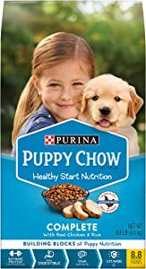 Purina Puppy Chow High Protein Dry Puppy Food, Complete With Real Chicken - 8.8 lb. Bag (10017800404553)