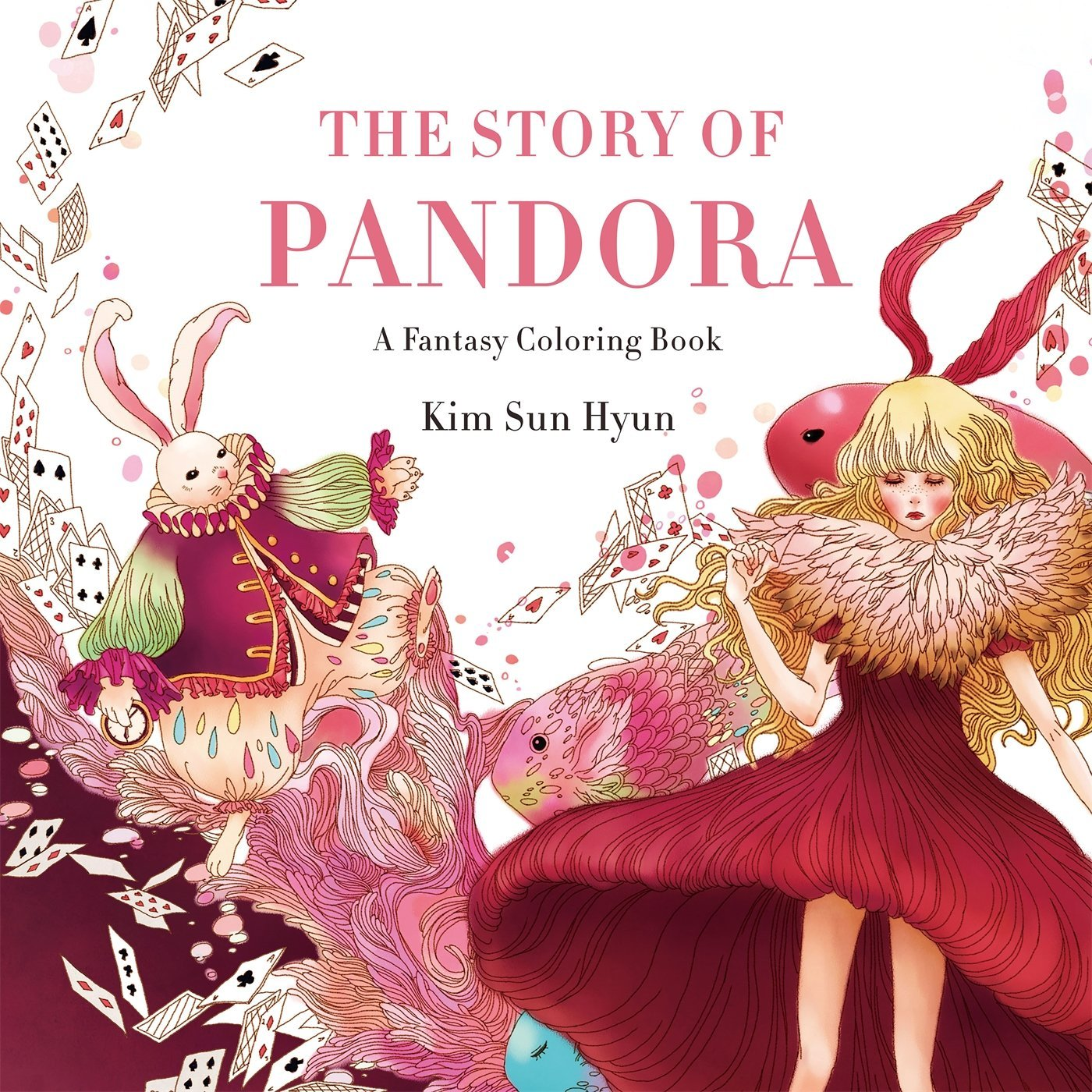 Amazon The Story Of Pandora A Fantasy Coloring Book 9781250112460 Kim Sun Hyun Song Geum Jin Books