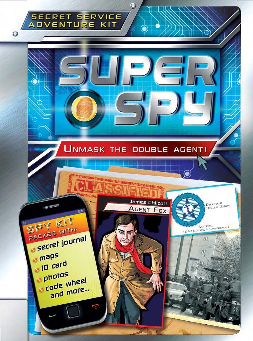 Download Super Spy: Unmask the Double Agent! PDF