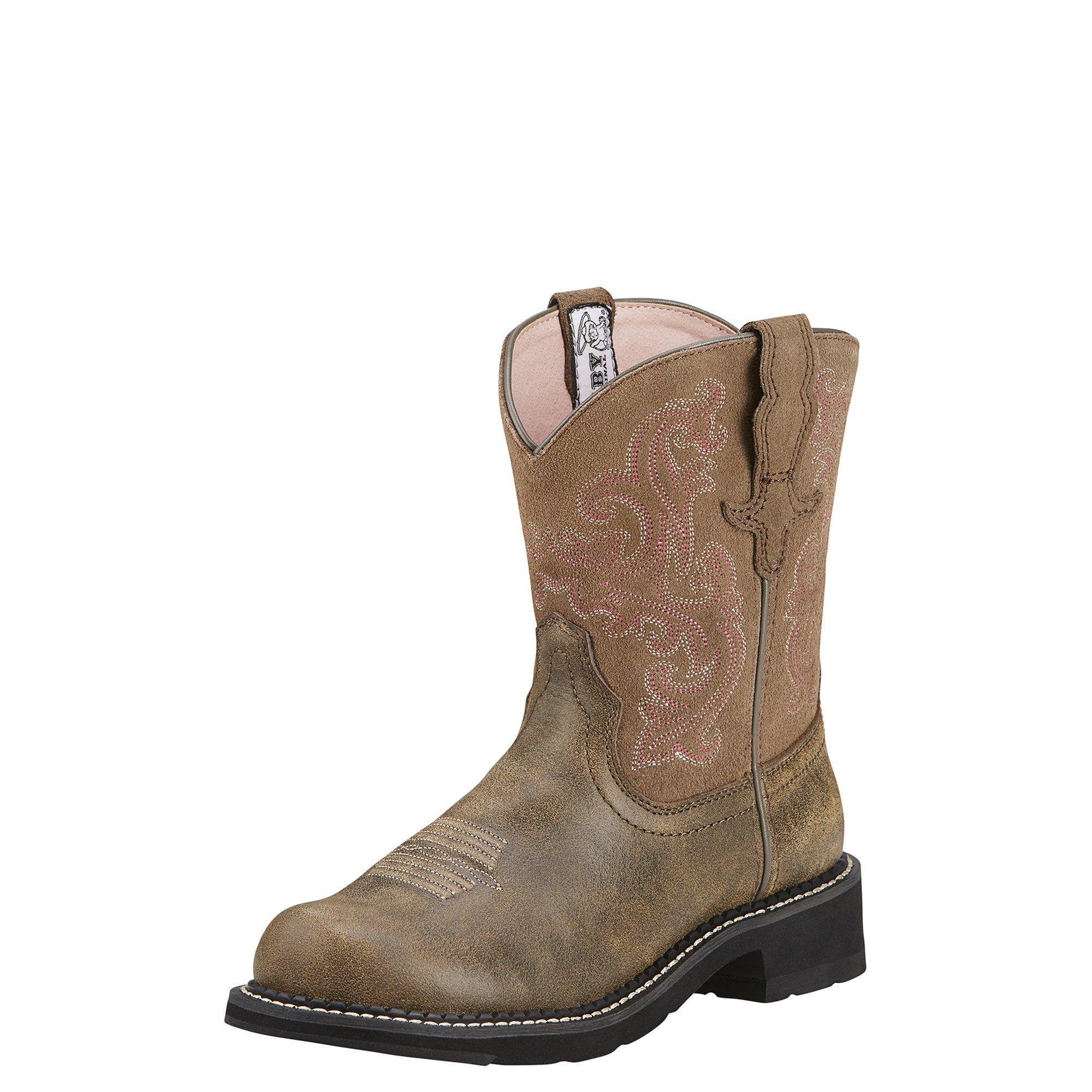 Ariat Women's Fatbaby II Western Cowboy Boot, Brown Bomber, 9.5 M US