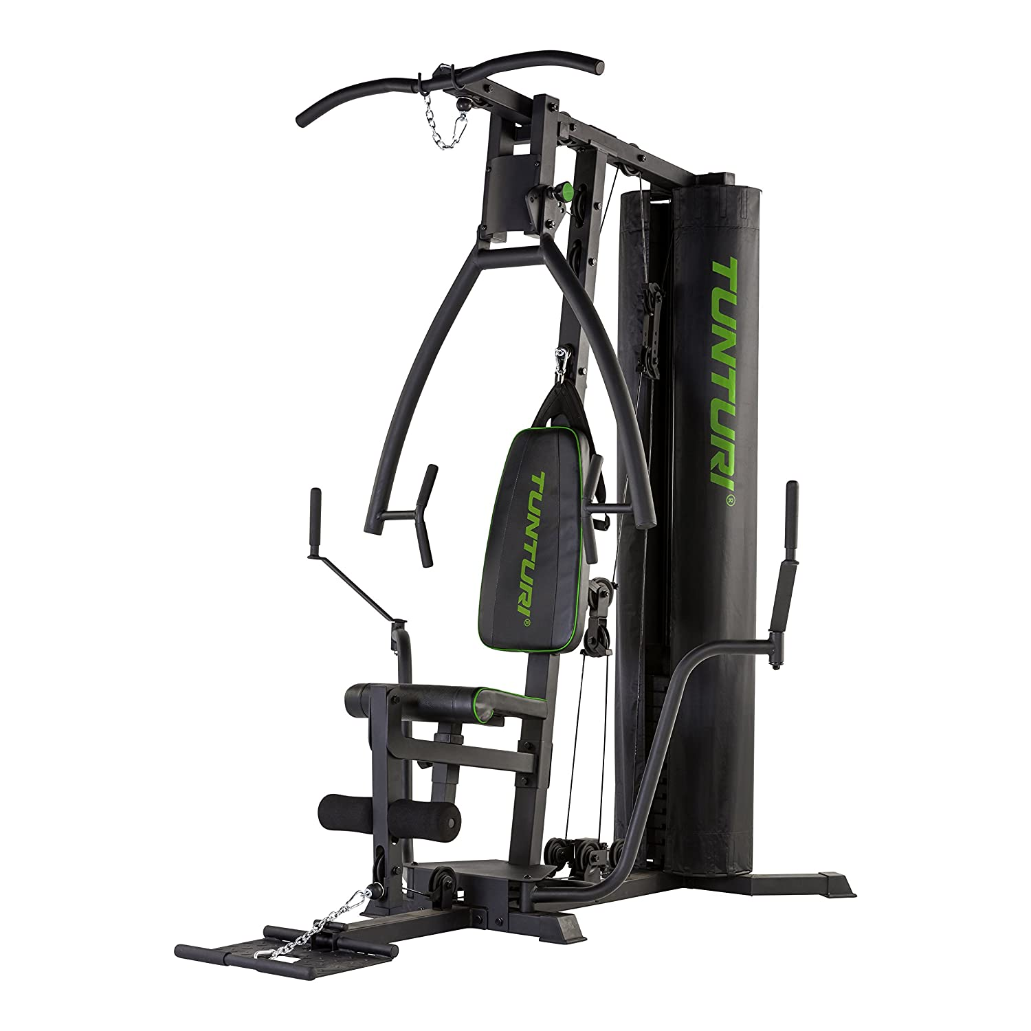 Tunturi HG40 Home Gym Kraftstation, schwarz, 1