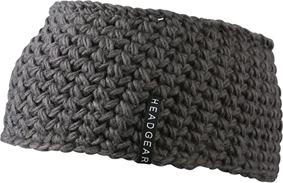 Mb Chunky Knit Headband With Lining 9 Great Colours Ski Sports
