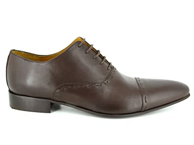 c7966618ae8 J.BRADFORD Chaussures Richelieu JB-DARIUM Marron  Amazon.fr  Chaussures et  Sacs