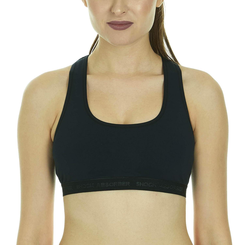 9aa5ca0bc2147 Shock Absorber Women s Criss Cross Sports Bra at Amazon Women s Clothing  store