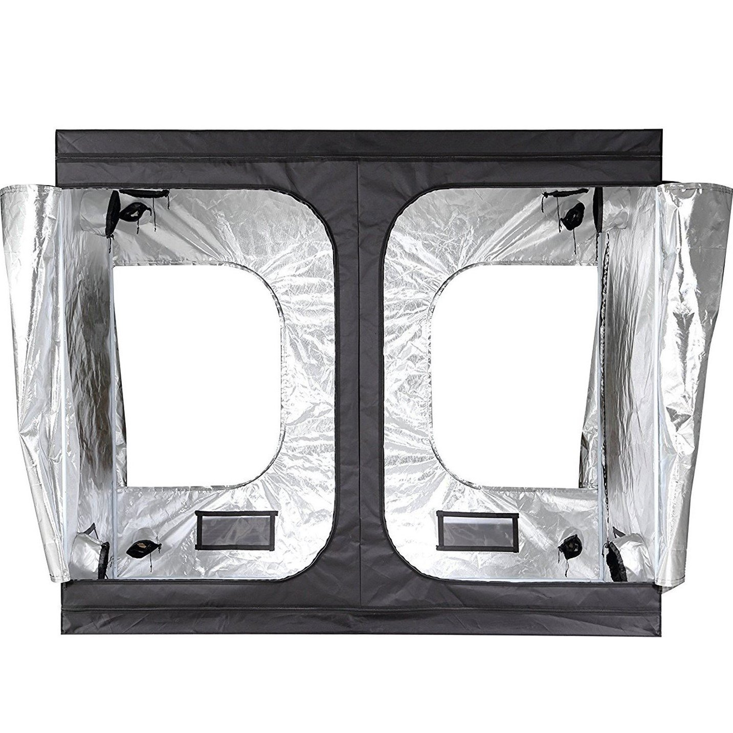 iPower 96 x48 x78  Hydroponic Water-Resistant Grow Tent with Removable Floor  sc 1 st  Amazon.com & Plant Growing Tents | Amazon.com
