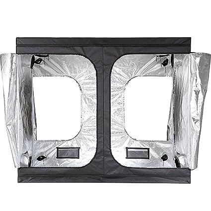 iPower 96u0026quot;x48u0026quot;x78u0026quot; Hydroponic Water-Resistant Grow Tent with Removable Floor  sc 1 st  Amazon.com & Amazon.com: iPower 96