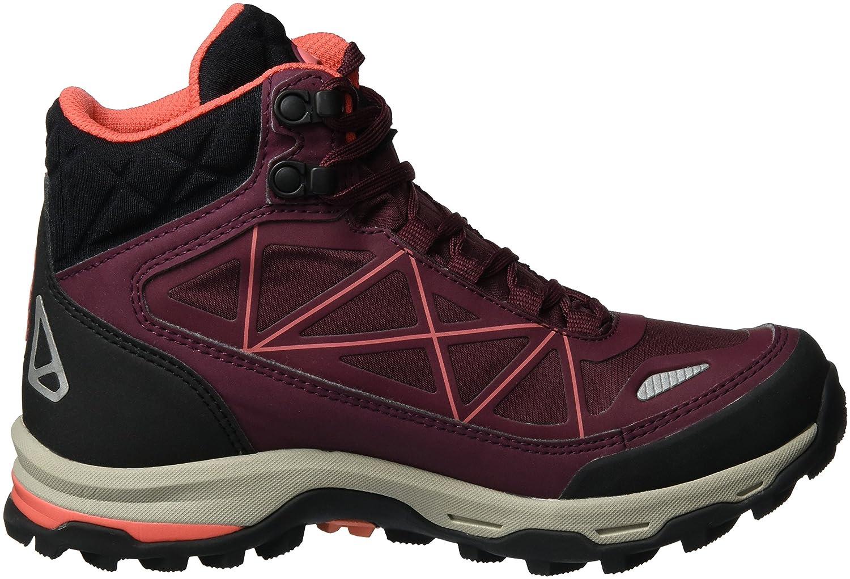 Viking Damen Ascent II GTX Trekking-& Wanderstiefel, Rot (Wine/Coral), 41 EU
