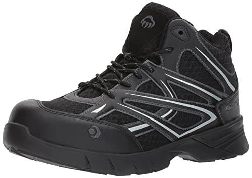 2f4d923c5f1 Wolverine Men's Jetstream Mid Athletic Composite Toe Work Shoe