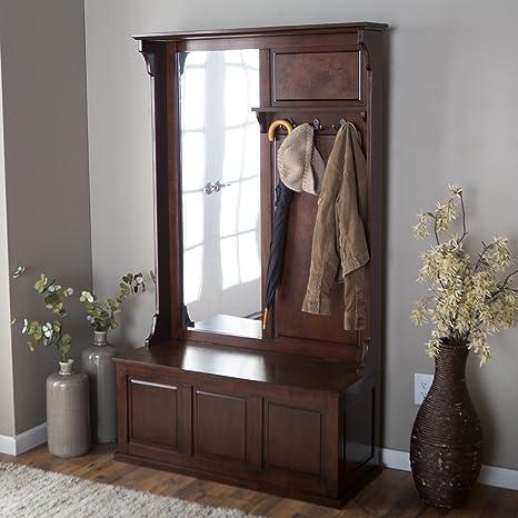 Amazon.com: belham salón Lynden de árbol con espejo Vertical ...