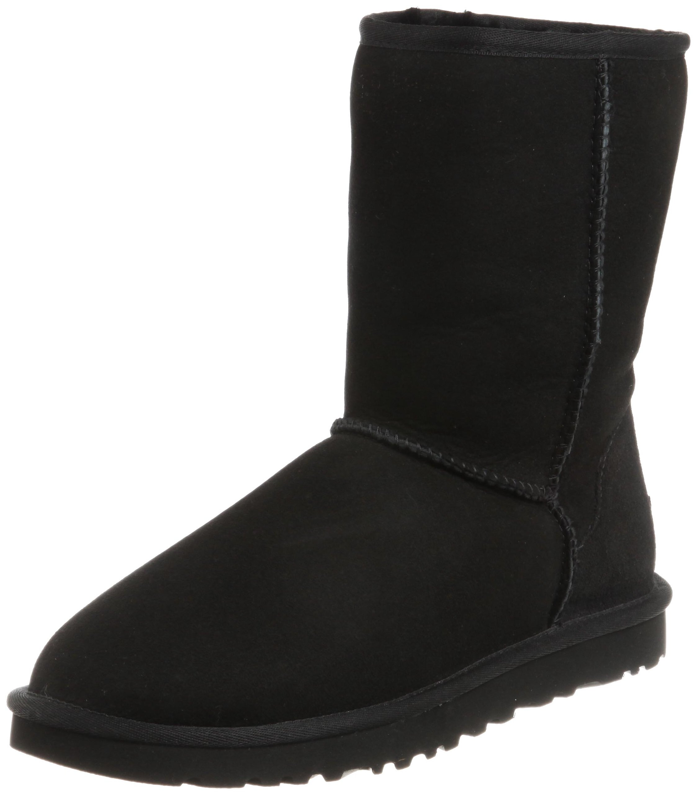 New Ugg Women's Classic Short Boot Suede Stretch Womens Shoes