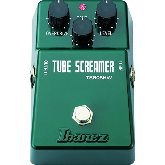 リンク:TS808HW Hand-Wired Tubescreamer