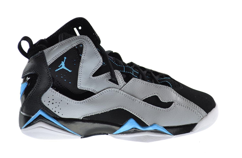 8118ca59a77606 Jordan True Flight (BG) Big Kids Basketball Shoes Black Dark Powder Blue-Wolf  Grey-White 343795-006