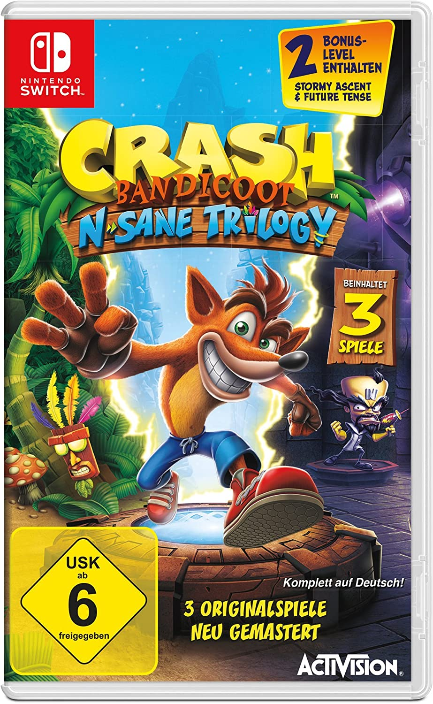 Activision Crash Bandicoot N. Sane Trilogy vídeo - Juego (Nintendo ...