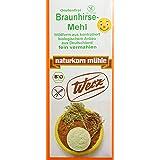 Werz Braunhirse gemahlen glutenfrei, 1er Pack (1 x 1 kg Packung) - Bio
