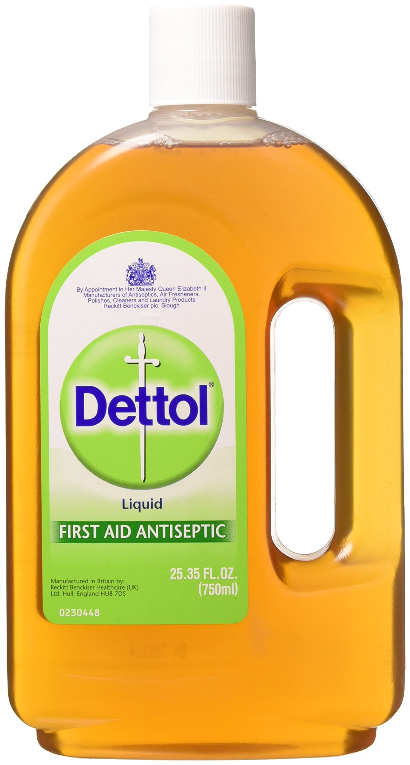Dettol Topical Antiseptic Liquid 25.35 FL.OZ.(750ml) by Dettol