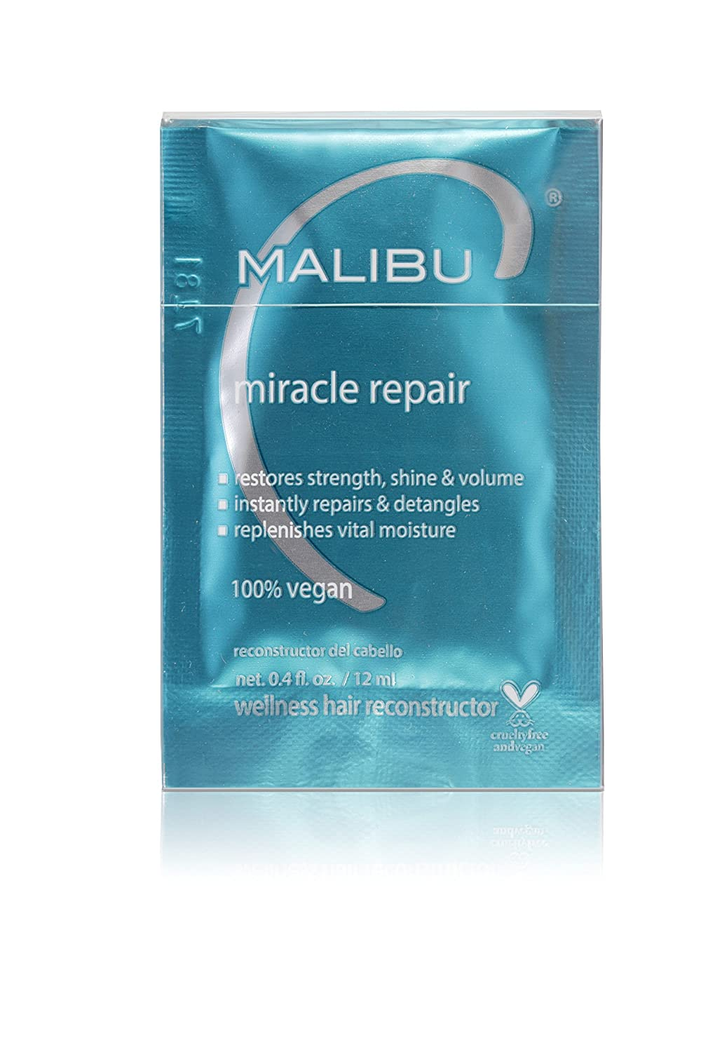 Malibu C Miracle Repair Wellness Hair Reconstructor, 12 Count