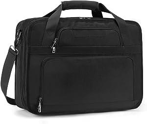 ESTARER 17-17.3 inch Laptop Briefcase Business Laptop Bag Large Messenger Shoulder Bag for Business College Travel