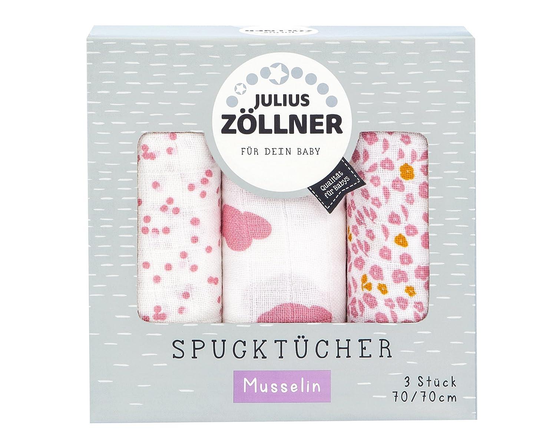 Elefant mint Spuckt/ücher 3er-Pack 70x70 cm